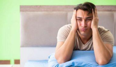 Symptoms of sleeping disorder